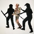 Arresting Democracy, 2013. 93 x 82 cm