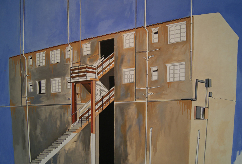 Many Mansions, 2010/11. Oil on canvas, 170 x 125 cm.