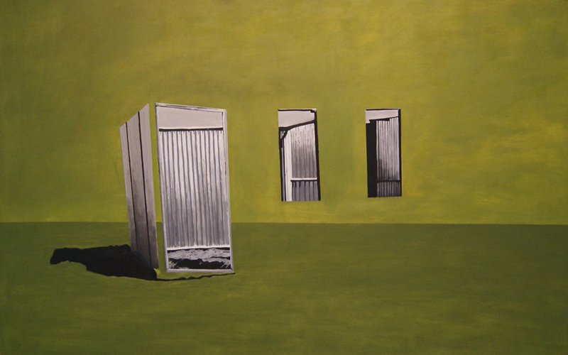 Many Mansions 2, 2010/11. Oil on canvas, 165 x 120 cm.