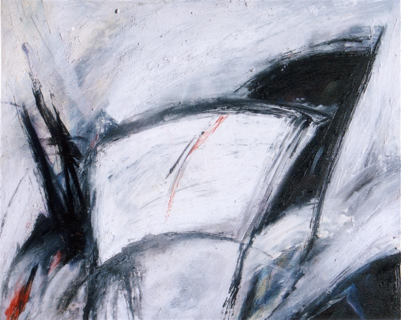 Separation thresholds, 1993. Mixed media, 80 cm x 60 cm