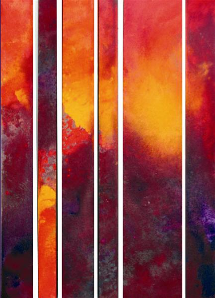Overburden: Hot Earth. Mixed media, 260cm