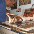 Printing the last edition of 'Sounds of the African Drums'