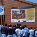 Art for Humanity workshop, 2011. Chesterville Secondary School, Durban