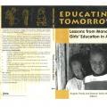 Educating Tomorrow