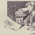 Trotsky Drawing