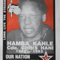 Chris Hani - ANC Memorial poster
