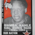 Chris Hani - ANC Memorial poster