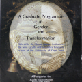 Graduate program in gender and transformation.