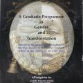 Graduate program in gender and transformation.