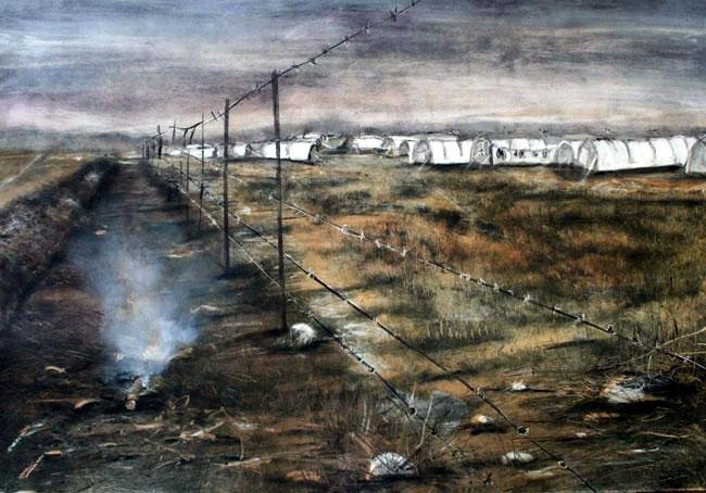 Rifle range I, Roodeport, 2009.