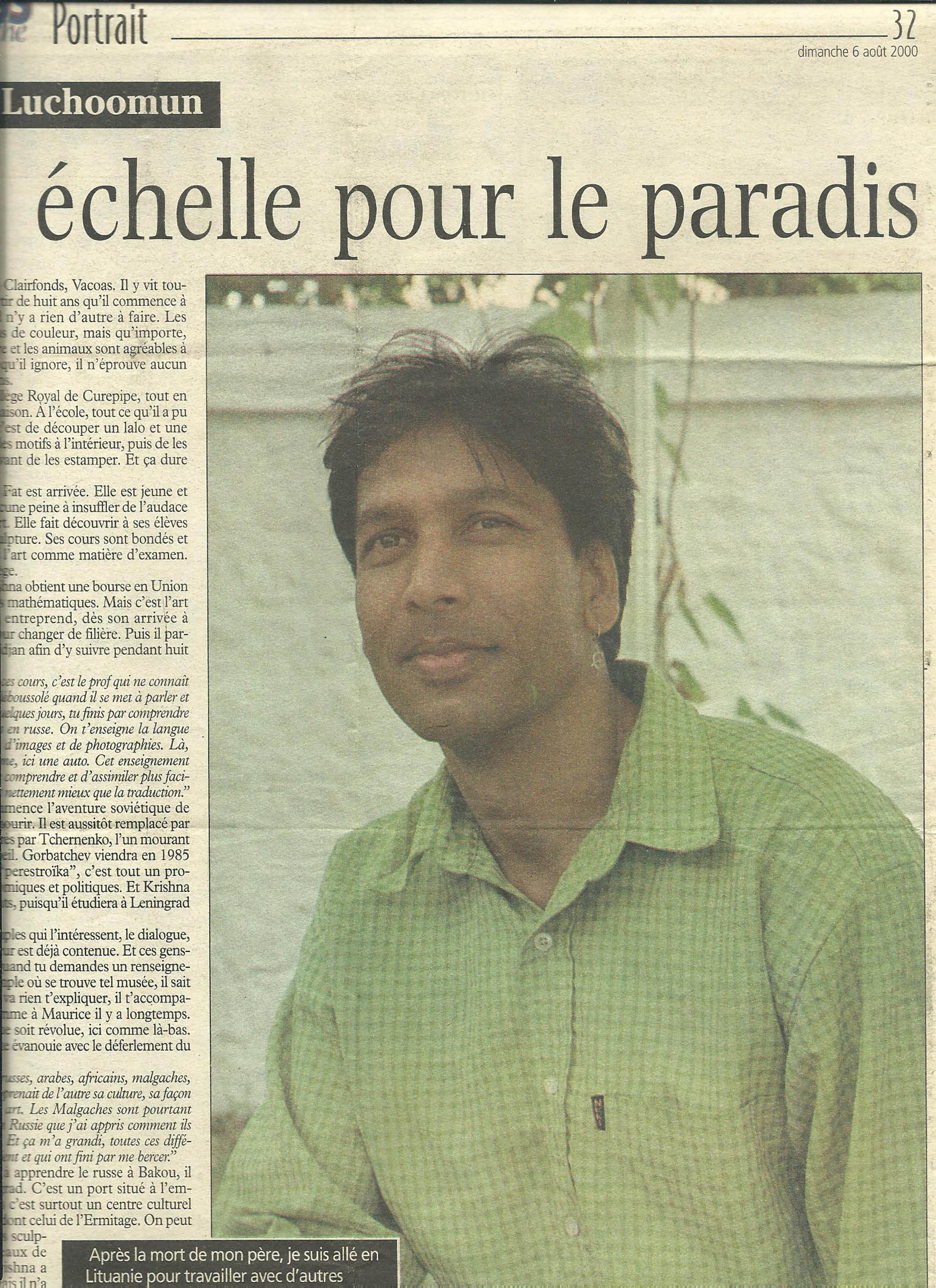 LEXPRESS, 6 August 2000