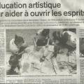 L'education artistique por aider a ouvrir les esprits... LEXPRESS. April 2014