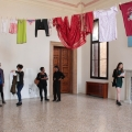 <em>From Birth to Death</em>. 2015. Clothes. Site-specific installation