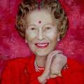<em>Red</em>. 2006. Acrylic on carton. 150x120cm