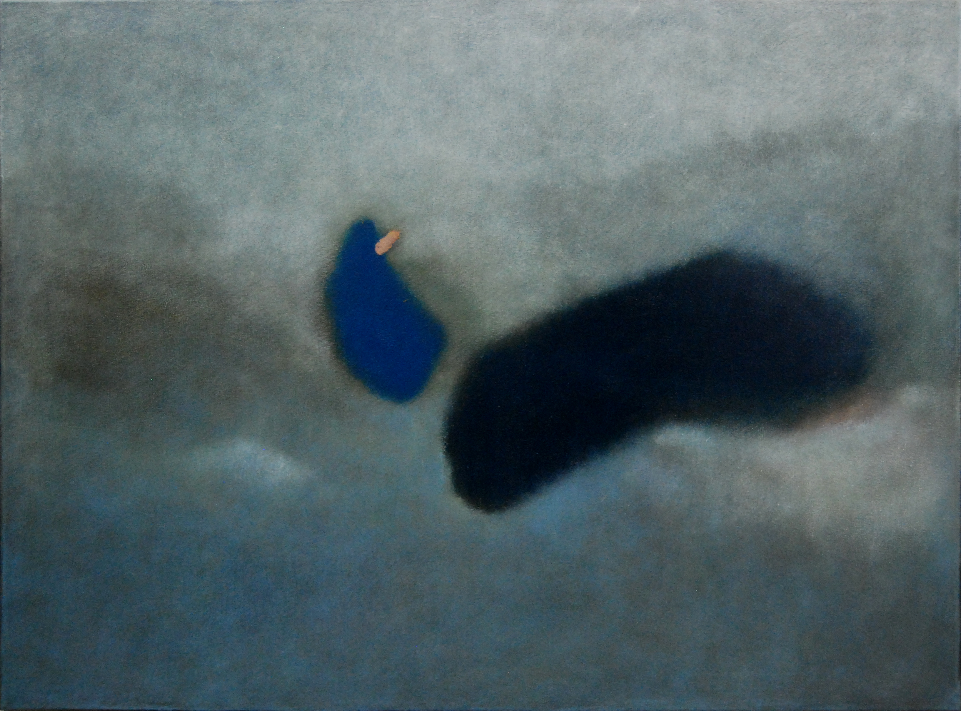 <em>You & me III</em>. 2010. Oil on canvas. 80x100cm