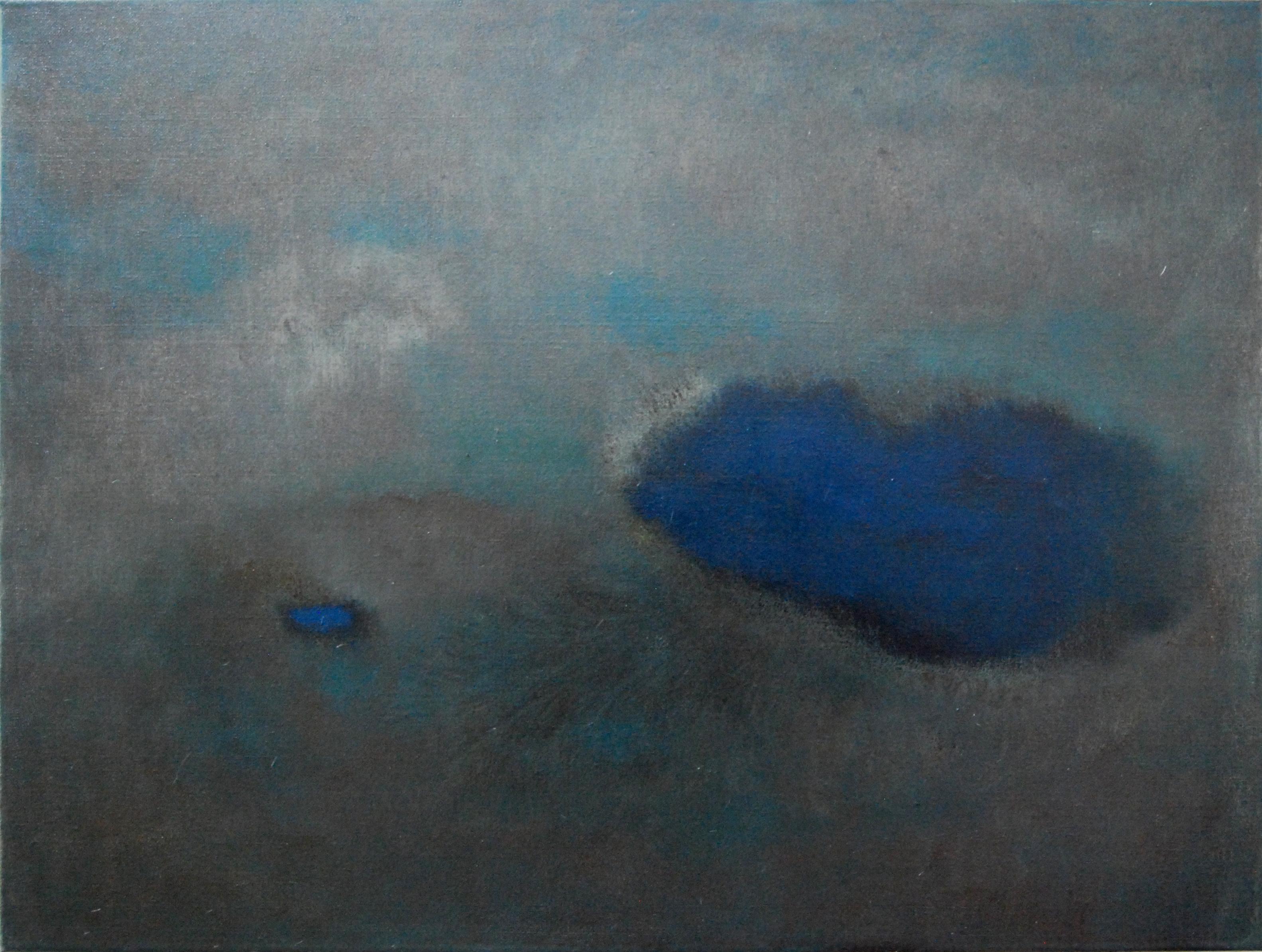 <em>You & me VIII</em>. 2010. Oil on canvas. 80x100cm