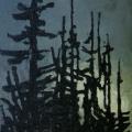 <em>Fortitude</em>. 2007. Oil on canvas. 240x100cm