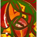 Jikala, 1994. Lithograph on paper, 60 x 29 cm (Photo: Mike Hall)
