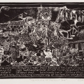 Memories of District Six, 1994. Linocut on paper, 29 x 40 cm (Photo: Mike Hall)