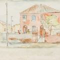 Francis Street D6, 1984. Watercolour on paper, 42 x 59 cm (Photo: Mike Hall)