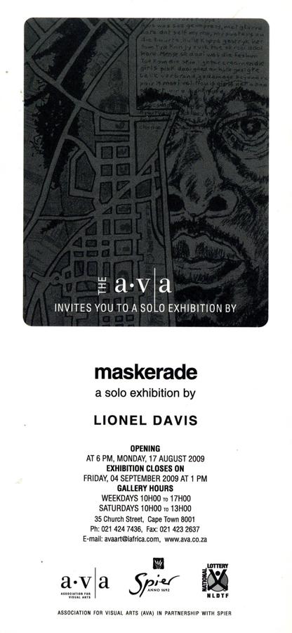 Lionel-Davis-maskerade-flier-back
