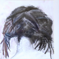 Dreadlocks, 2010. Charcoal on paper, 43 x 46 cm (Photo: S Williams)