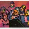 Dark Days Eighties III, 1984. Monoprint on paper, 27 x 37.5 cm (Photo: Mike Hall)