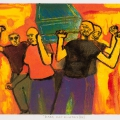 Dark Days IV, 1984. Monoprint on paper, 27 x 37.5 cm (Photo: Mike Hall)