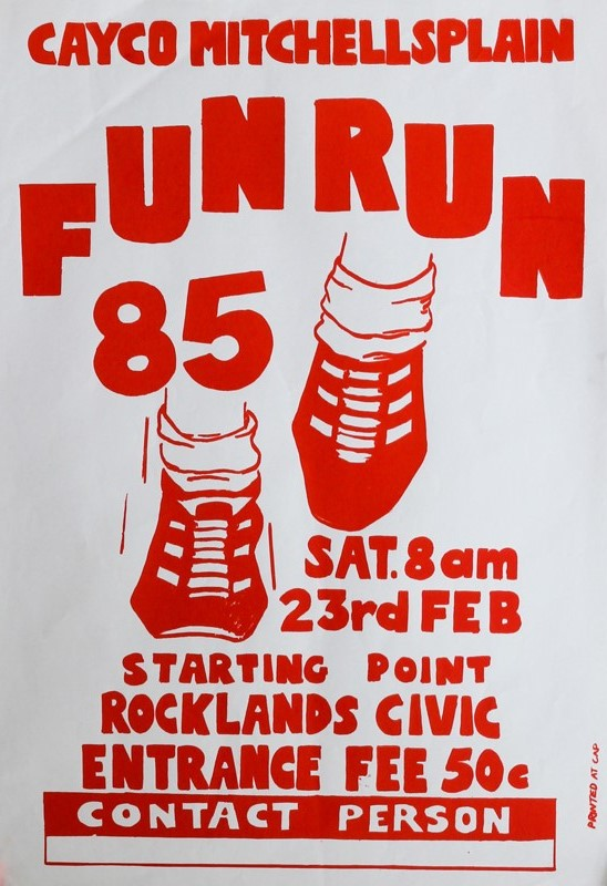 CAYCO Fun Run, 1985
