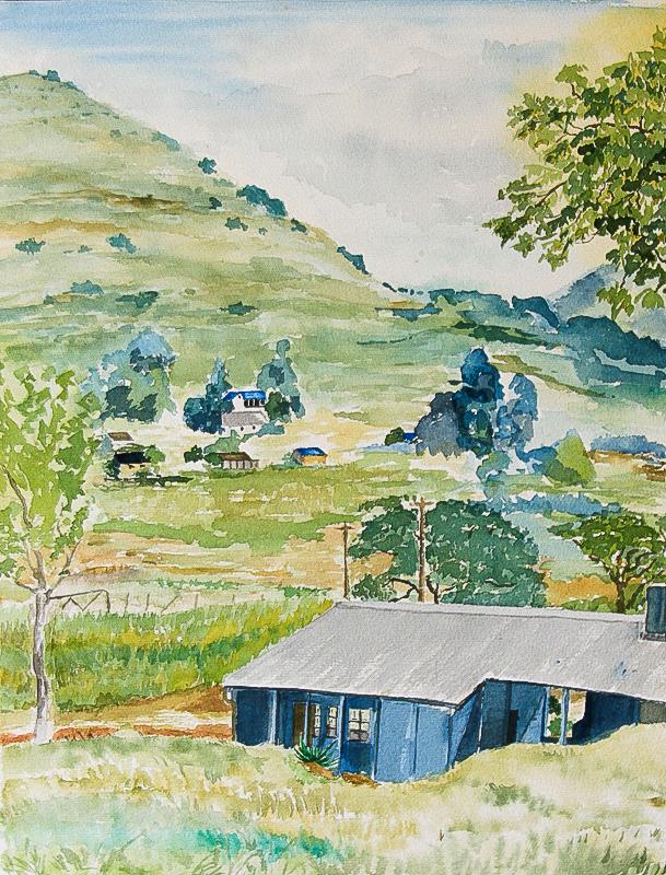 View of Rorke's Drift, 1981