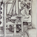 Weaving Away (Worker at Rorkes Drift), 1981