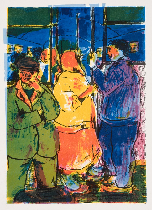 Going Home, 1994. Screen print on paper, 76.5 x 53 cm
