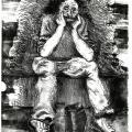 Lionel Davis, <em>Untitled</em>, 2018. Lithograph on paper