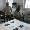 left to right: Mario Pissarra and Lionel Davis (Photo: Manfred Zylla)