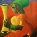 African queen - 690mm x 880mm