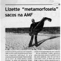 """Lizette """"metamorfoseia' sacos na AMF"""