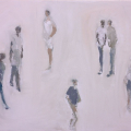 <em>Sidewalk</em>, 2012. Oil on canvas 70 x 85 cm