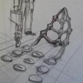 Madi Phala - SS Mendi memorial-concept sketch