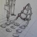 SS Mendi memorial - concept sketch