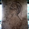 Self-portrait as Minerva - Auto-retrato como Minerva, 2010.