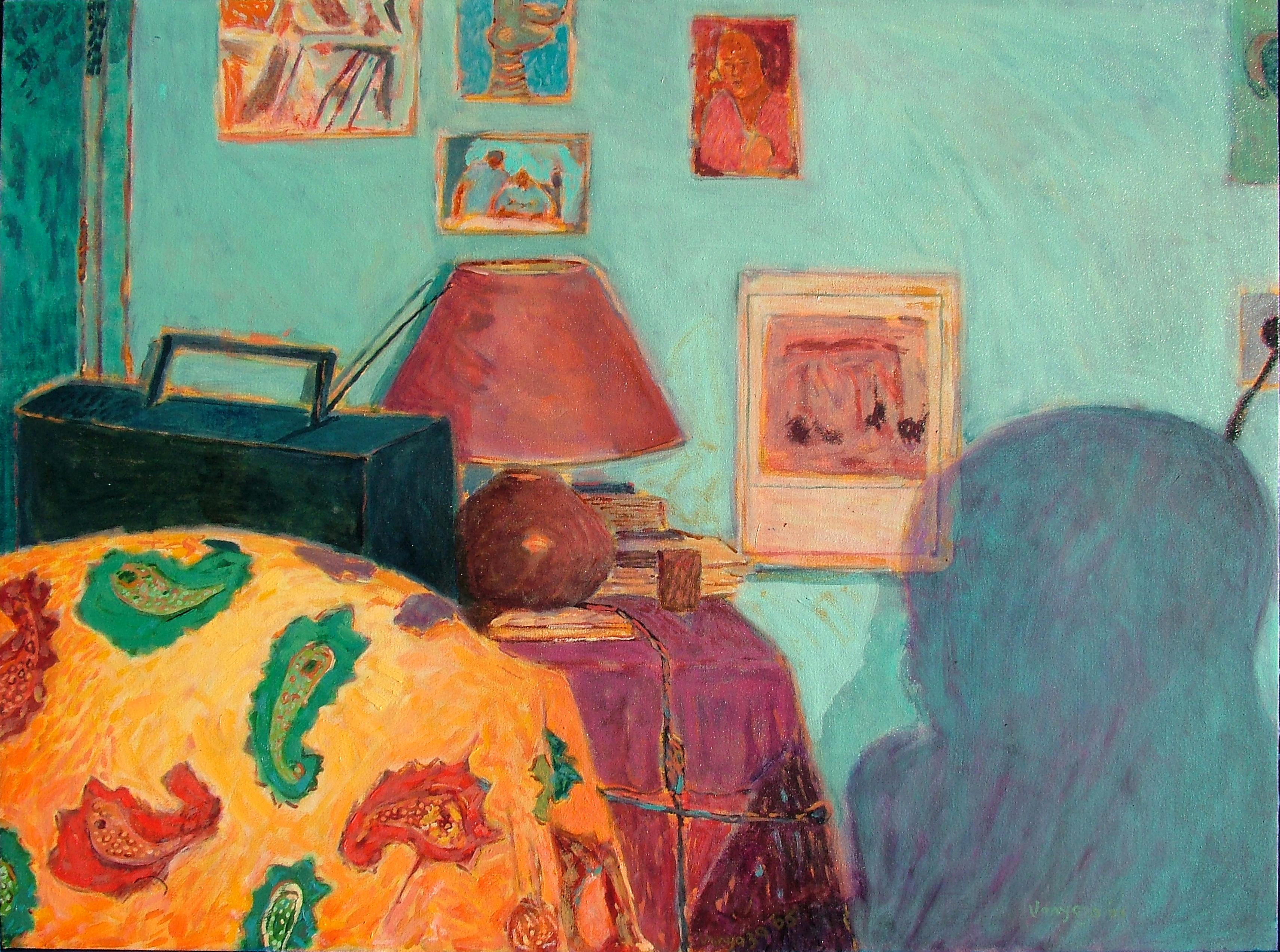 Mandla Vanyaza - In his room [Sekoto's shadow]