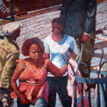 Mandla Vanyaza - Afternoon shopping