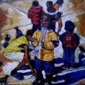 Maurice Mbikayi - Untitled