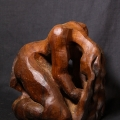 Untitled wood carving