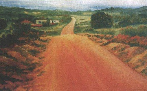 A road to Mnguni's forest