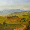 A view to Sabuyaze Hill, Maphumulo