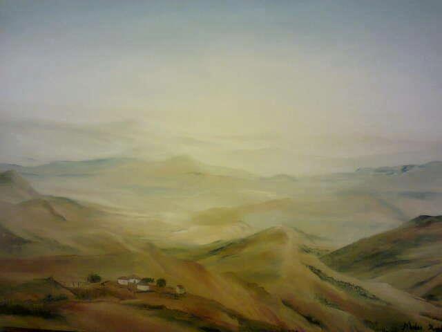 A view towards Bhekimbitane, Maphumulo