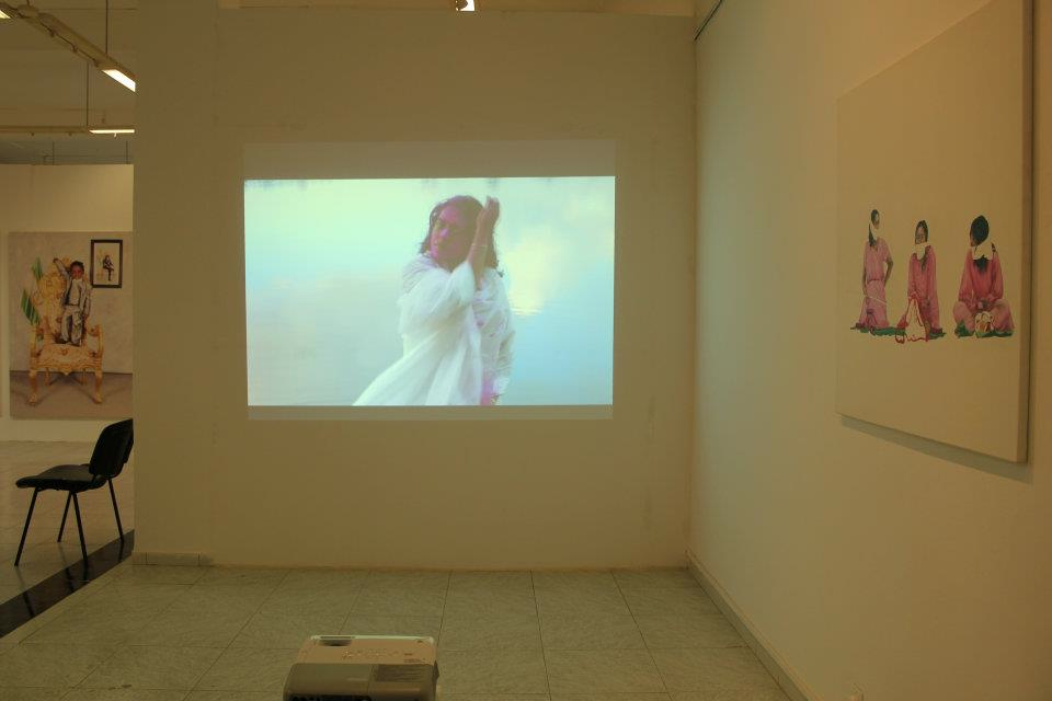 conversations and one color video installation (4)