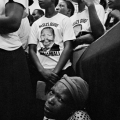 Omar Badsha - Mourners at funeral of African leader
