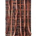 <em>Resitance I</em>. 2017. Woven recycled rubber. 120x80cm